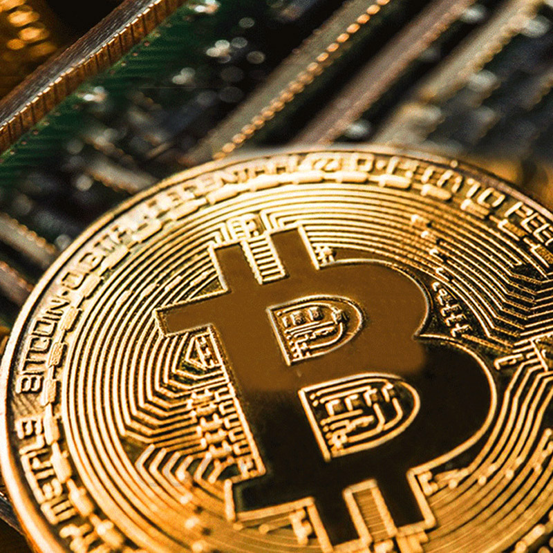 BITCoin Art Collection Gold Plated Physical Bitcoins Bitcoin BTC with Case Gift Physical Metal Antique Imitation Silver Coins-5