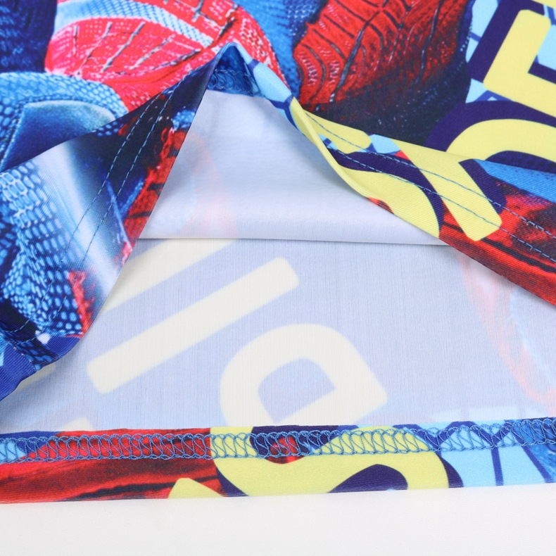 2019 Summer New Style BOY'S Split Type Three-piece Set CHILDREN'S Swimsuit Set Cartoon Spider Split Type Swimwear 2336