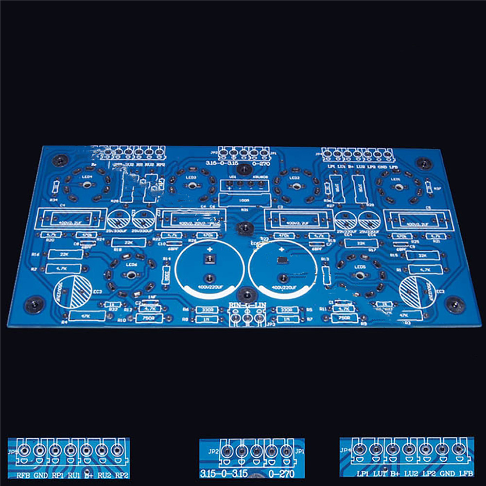 6N11+6P14 Power Amplifier Board Super Linear Push-pull PCB Empty Board DIY Accessories Repair Kit Spare Parts