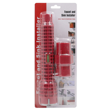Многофункциональный установщик крана и раковины удлиненный дизайн позволяет поворачивать инструмент противоскользящая ручка двойной головкой гаечный ключ дропшиппинг