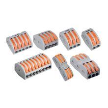10/20/100 шт. Сделай Сам провод разъема домашний электрический терминал кабели разъема 0,08-2,5 мм PCT-212 conectores de cabos eletricos