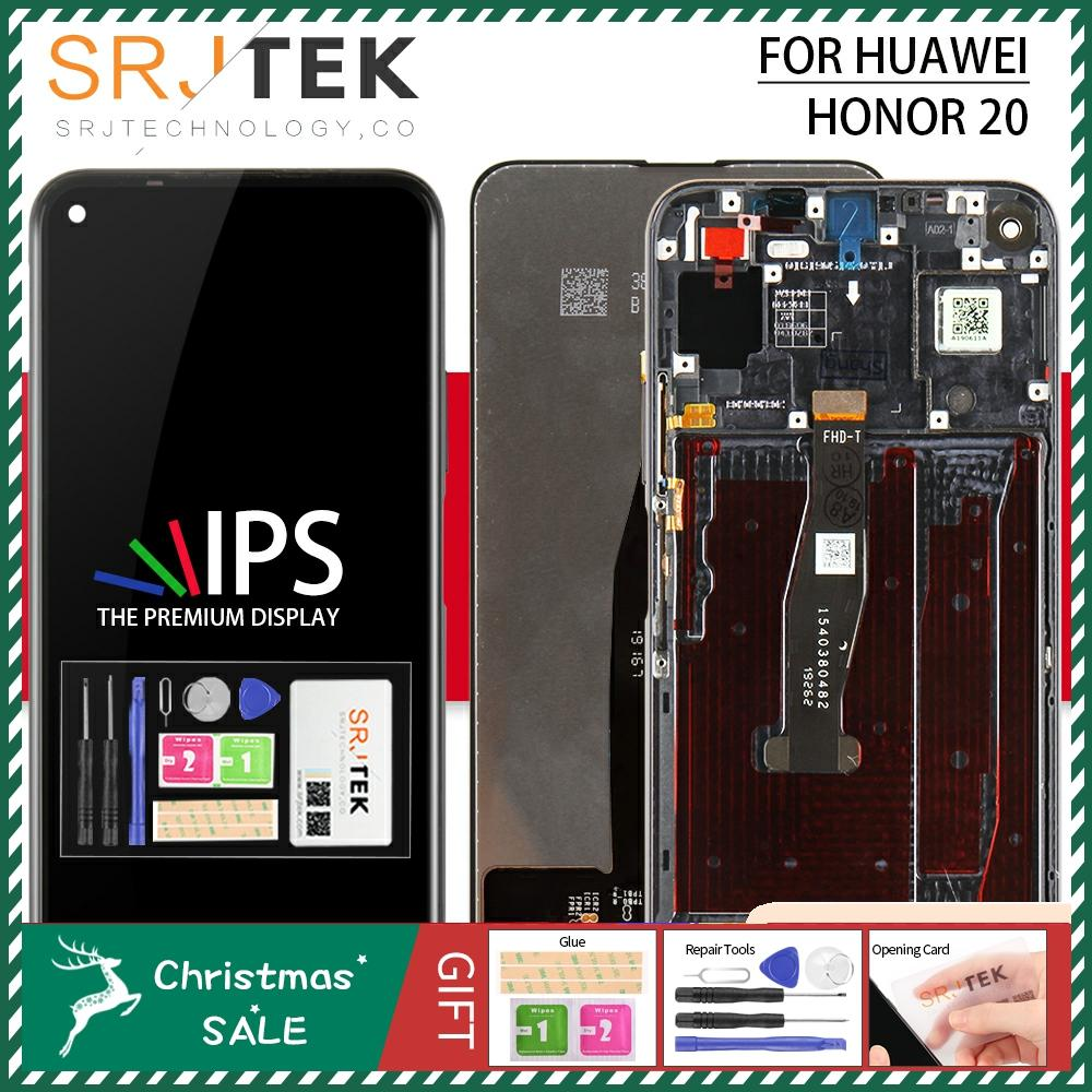For Huawei Honor V30 LCD For Honor View 30 Glass Touch Panel Sensor For Huawei Nova 6 Display Screen Replacement With Frame
