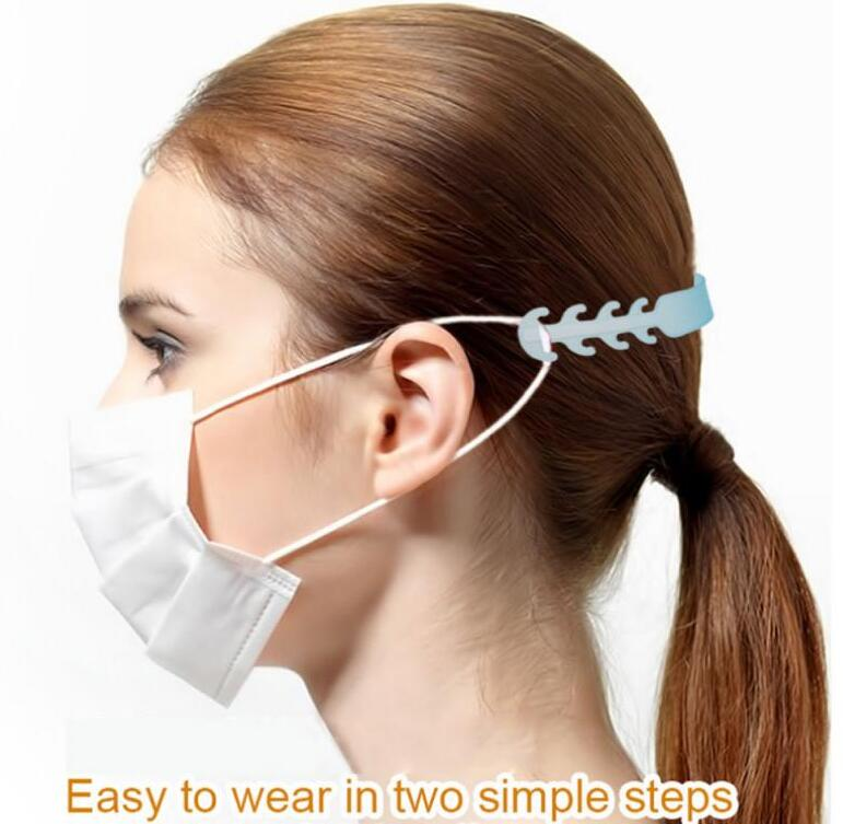 Mouth Mask Assist Artifact Protective Mask Ear Protector Accessories Mask Companion Accessory Hook Adjustable Earband