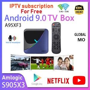 A95X F3 Air Smart TV BOX Andro