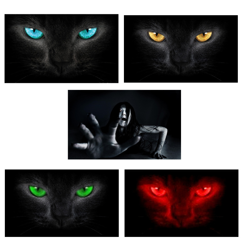 Image 5 - Surprise 3D Car Rear Windshield Sticker Waterproof One Way Vision Material OEM 130*70cm Unique ORC Wolf Thriller Sticker Scary-in Car Stickers from Automobiles & Motorcycles