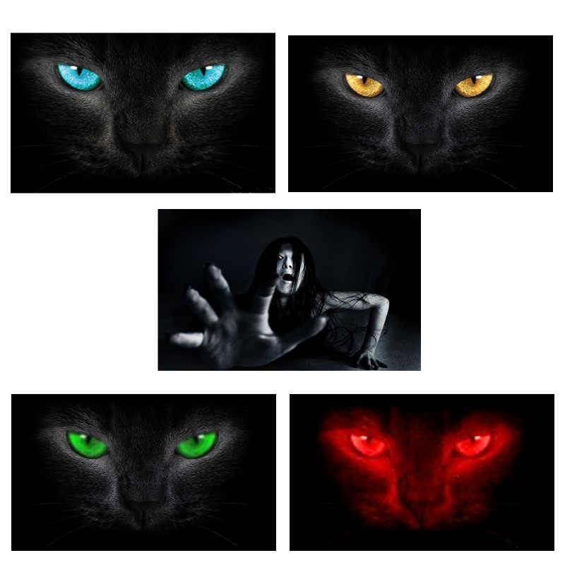 Surprise 3D Car Rear Windshield Sticker Waterproof One Way Vision Material OEM 130*70cm Unique ORC Wolf Thriller Sticker Scary