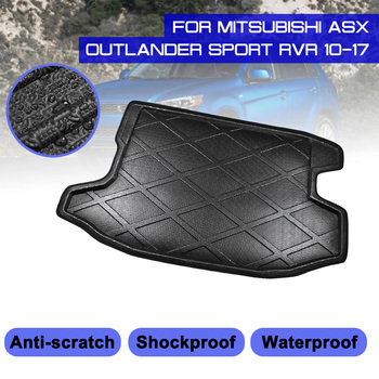 Car Floor Mat Carpet Rear Trunk Anti-mud Cover For Mitsubishi ASX Outlander Sport RVR 2010-2017 image