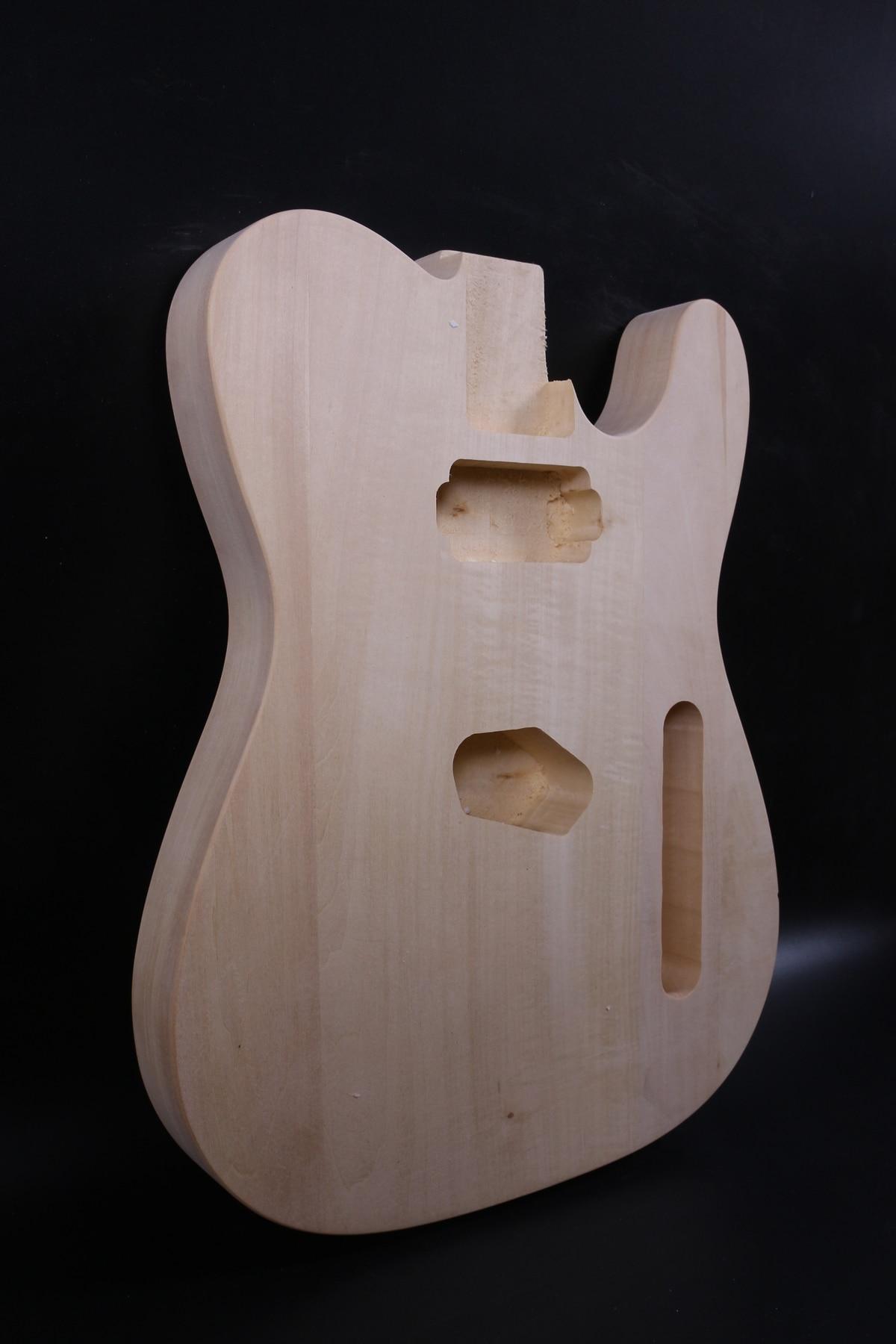 Unfinished gitarre Körper Linden holz Feine Stil Elektrische Gitarre Teile