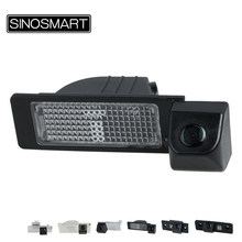 SINOSMART HD Special Car Rear view Parking Reversing Camera for Skoda Octavia Fabia Superb Rapid  2010 to 2015 Optional