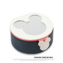Мультяшная портативная шкатулка для ювелирных изделий коробка