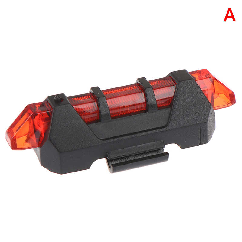 2020 Mountain Bike USB Charging Waterproof Taillight Outdoor Night  Warn Li HF