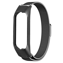 Laforuta Milanese Loop Stainless Steel Watchband for Samsung Galaxy Fit-e Bracelet Sports Replacement Band Starp SM-R375