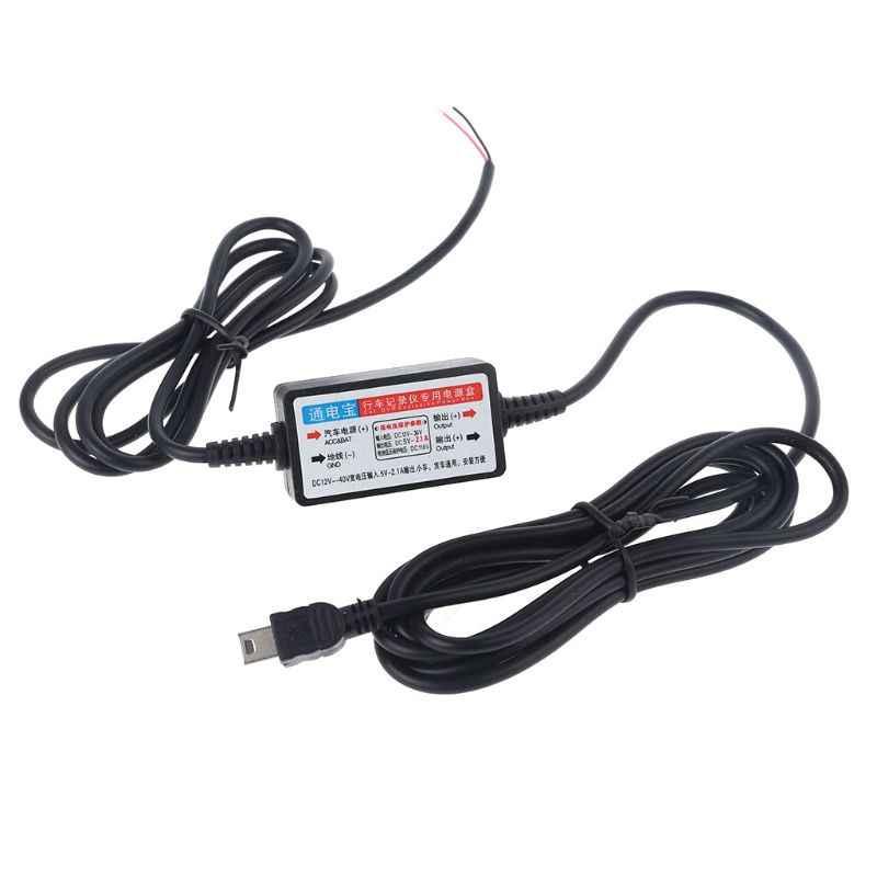 3,5 м от 12 В до 5 В пост проводной кабель Mini USB разъем Micro USB для автомобиля тире Камера телефон H4GC