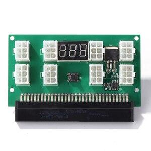 Image 2 - التعدين 750 واط خادم PSU امدادات الطاقة لوحة القطع محول مع شاشة LED 8 منافذ PCI e 6 دبوس ل HP DPS 1200FB DPS 1200QB