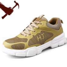 Mens Fashion Safety Shoes Steel Toe Lightweight Indestructable Shoe Work Boots Breathable Wear F27