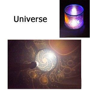 Image 5 - 2020 مذهلة رومانسية ملونة كوزموس ستار ماستر LED ستار السماء العارض ليلة ضوء مصباح نجوم السقف تسليم سريع
