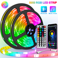 5M-30M Led Strip Light Bluetooth 5050/2835 DC 12V waterproof LED Strip ribbon diode tape RGB Controller power adapter for Home
