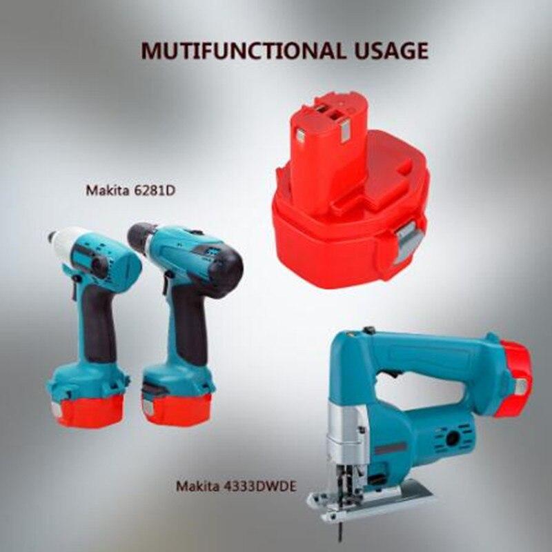 Новый оригинальный 14,4 вольт 4000 мАч NI CD Аккумулятор для электроинструмента MAKITA 14,4 В Аккумулятор для Makita PA14, 1422,1420 192600 1, 6281D, 6280D|Перезаряжаемые батареи|   | АлиЭкспресс