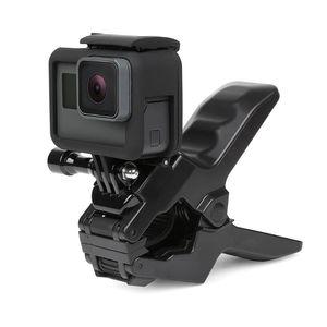 Image 3 - Tragbare Jaws Flex Klemm Halterung für GoPro Hero 7/6/5/4/5/3/2/1 Xiaomi Yi 4k SJCAM SJ4000 M10 C30 H9 H9r Action kamera Zubehör