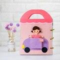 Тканевые книги для игрушек, Интерактивная развивающая книга Монтессори, тканевая книга для маленьких девочек, раннее познавательное образ...