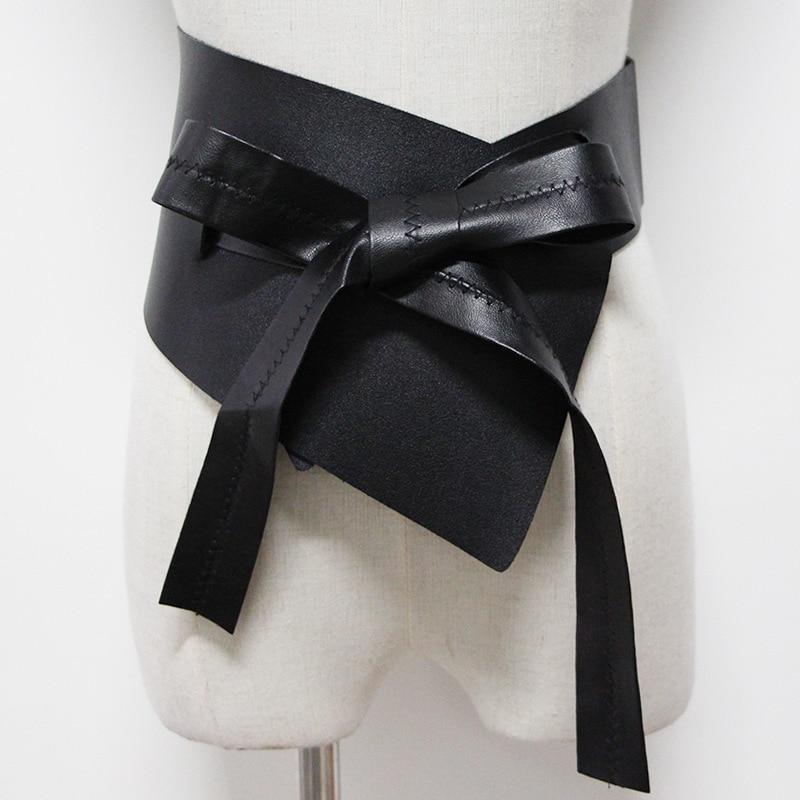 Belts For Women 2020 New Design Solid Trendy Wide Belt Bow Fashion Corset Belt Hot Sale Irregular Waistband Female Stylish ZK774