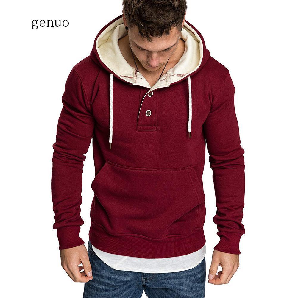 New Hoodies Men 2020 Spring Fashion Tracksuit Sweatshirt Men's Winter Warm Collar Cap Long Sleeves Pullover Sports Sweatshirts