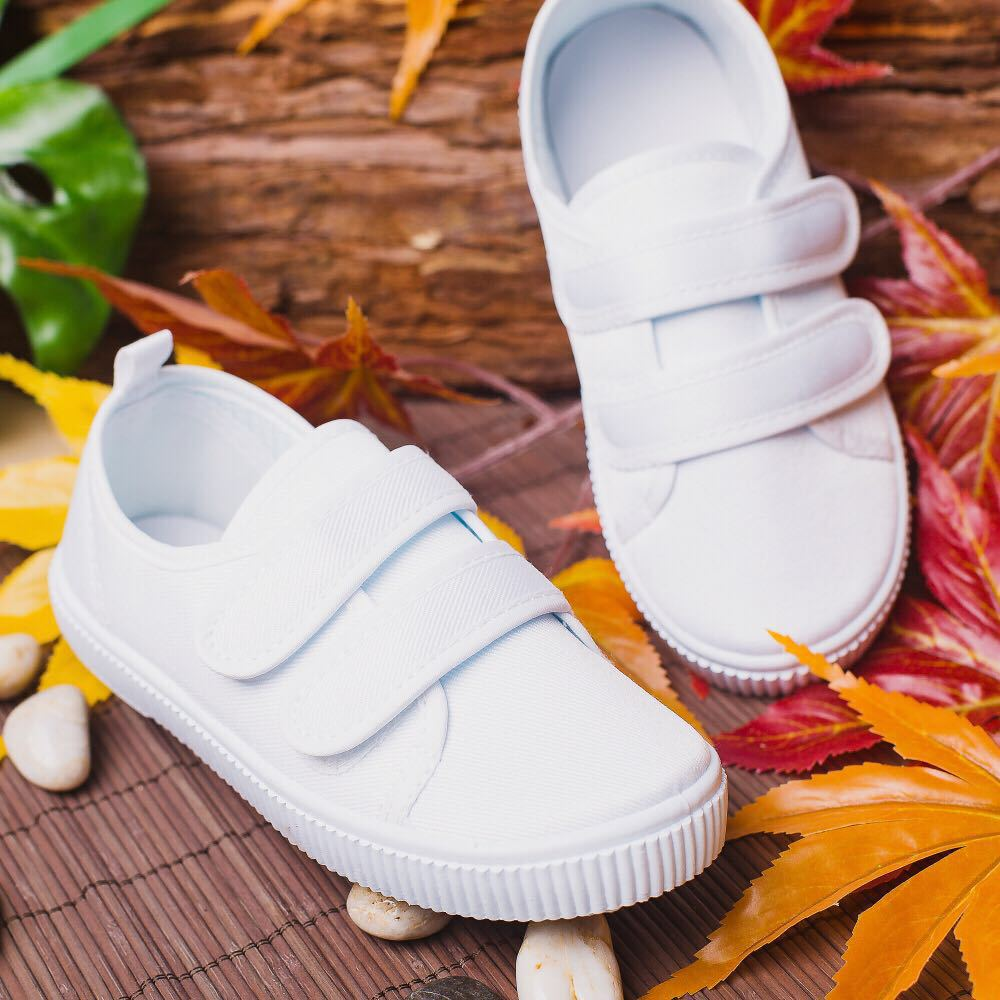 Sports Shoes White Canvas Shoes Leisure