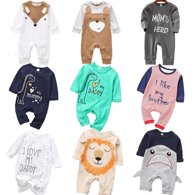 Newborn's Cute Animals Romper 1