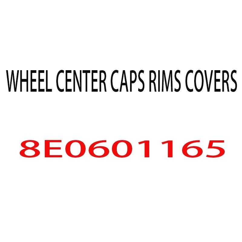 4 шт./компл. 150 мм центральный колпак на колесо автомобиля эмблема автомобиля значок для A4 A5 A6 A8 автомобилей, 8E0601165 Бесплатная доставка