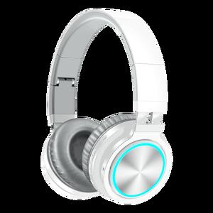 Image 2 - B12 bezprzewodowy zestaw słuchawkowy Bluetooth 5.0 składane słuchawki stereofoniczne do gier 7 kolor słuchawki douszne LED dla PC Laptop