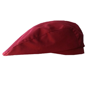 top selling product 2020 Stylish Men Women Chef Hat Catering Baker Kitchen Cook Duckbill Beret Golf