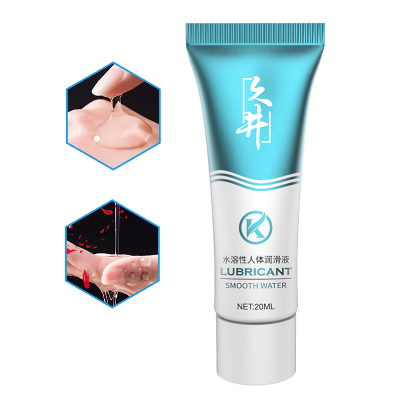 Sex Lubricant 20mL transparent Lubricant Water-based Sex Oil Vaginal Anal Gel Adults Sex Product Dildo/Vibrators lubricants
