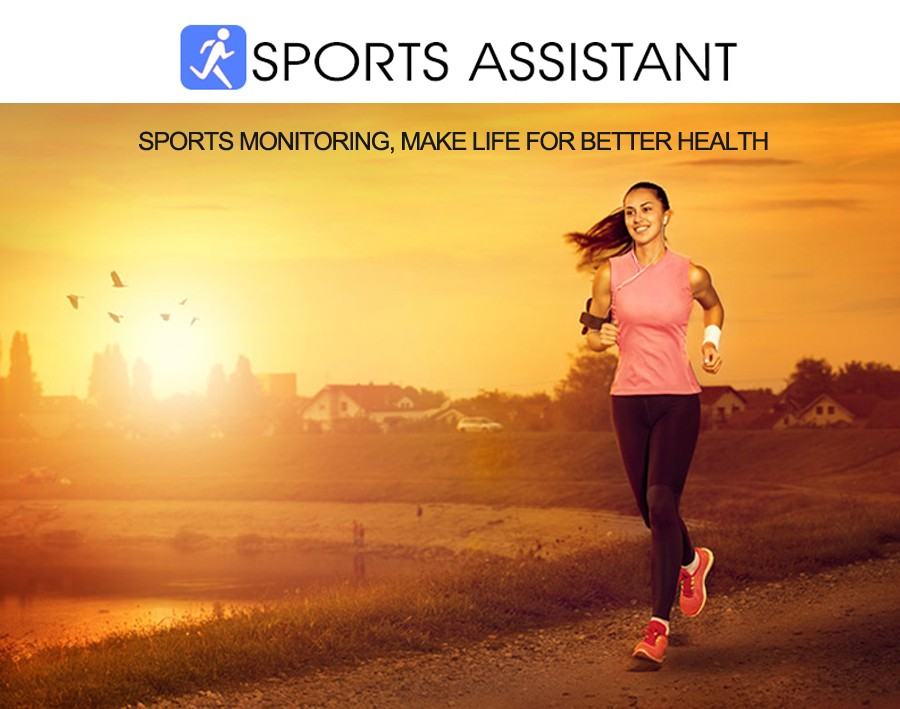 Sport watch smart camera, compatible with SIM card TF for IOS Android Sport Assistant