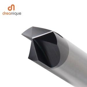 Image 4 - CNC Carbide Chamfering Dao Phay 60 90 120 Độ Phủ 3 Sáo Deburring Cấp Cối Xay Khắc Và Khắc Router Bit