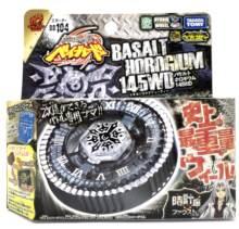 100% takara tomy beyblade bb104 145wd basalto horgium battle início do jogo