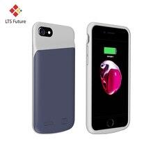 Тонкий Силиконовый противоударный чехол для зарядного устройства для iPhone 6, 6s, 7, 8 plus, чехол для аккумулятора, чехол для зарядки аккумулятора для iPhone