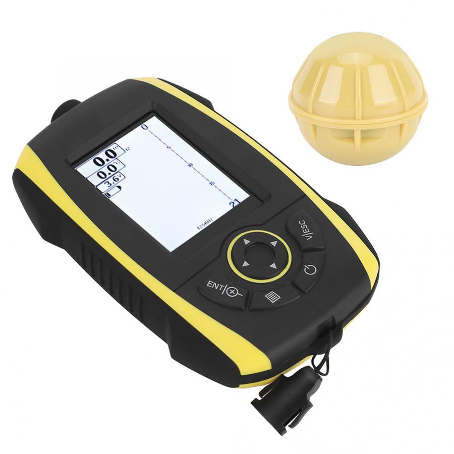FF288W Wireless Fish Sonar Finder Color Screen Portable Sounder Detector Alarm for Phiradar boat accessories steering for boat