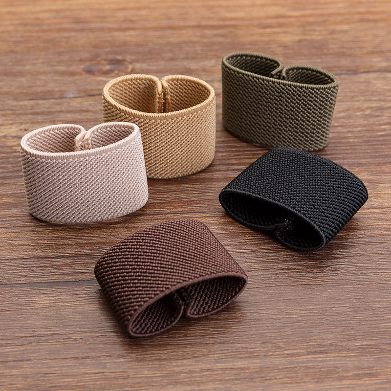 Twill Elastic Belt Loop Belt Loop Elastic Ring Belt Tail Belt Clip To Wholesale Belt Clip Accessories Manufacturer