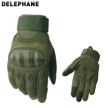 Knuckles Protective Military Gloves Men Full Finger Touchscreen Army Outdoor Sports Mountain Bike Climbing Women Mittens