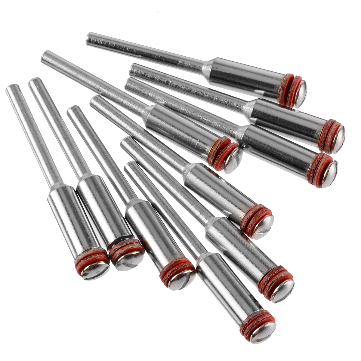 10pcs 2.35mm Screw Mandrel Shank Cut-off Wheel Holder For Small Woodworking Circular Saw Blade Cutting Abrasive Tool Accessories