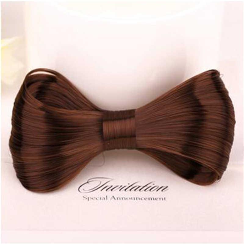 Новая Мода Прическа новинка большие галстуки-бабочки парик шпилька для женщин девушка укладки волос аксессуары для парикмахерских инструментов головной убор