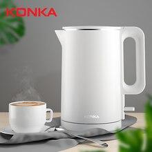 KONKA ไฟฟ้ากาต้มน้ำ 1.7L ขนาดใหญ่ความจุ 1500 วัตต์กาต้มน้ำไฟฟ้าอุณหภูมิที่แม่นยำควบคุม