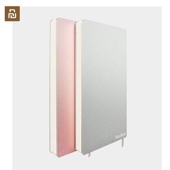 Original Xiaomi Youpin aluminio nota cambio Retro cuaderno portátil multifunción 192 página Oficina calendario viaje libro