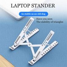 Faltbare Laptop Stand für MacBook ABS Leichte Halterung Notebook Halter für Apple MINI Tablet Handy Halter Einstellbar