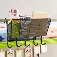 Creative College Student Dormitory Artifact Bed Hanging Basket Storage Rack Bedroom Bed Shelf on The Bedside Hanging Basket