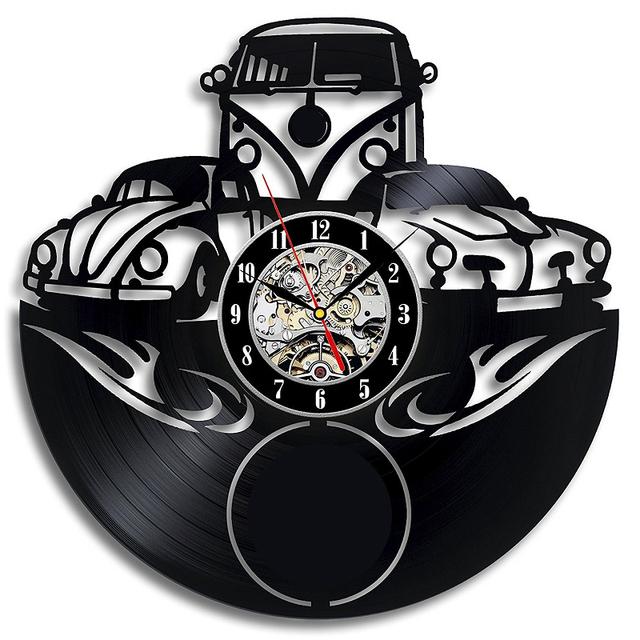 Vinyl Record Wall Clock Modern design for Gift