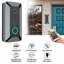 Doorbell-Camera Video Security Audio WIFI Night-Vision Smart Two-Way Wide Angle-Lens