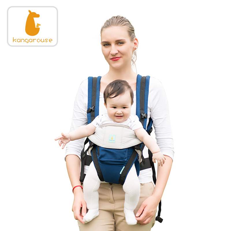 Kangarouse cotton ergonomic baby carrier for new born to 36 month KG 100|Backpacks & Carriers| |  - title=