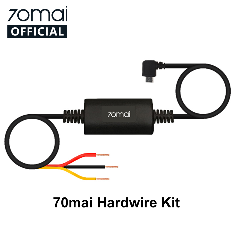 70mai Parking Surveillance Cable for 70mai 4K Dash Cam A800 Cam Wide Cam PRO 70mai Hardwire Kit for 24H Parking Monitor in Car