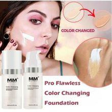 30ml Maquiagem Color Changing Liquid Foundation Oil-control Concealer Cream Hydrating Long Lasting Makeup Foundation TSLM1 все цены